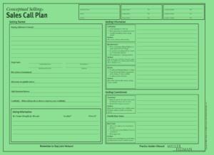 Miller Heiman Green Sheet